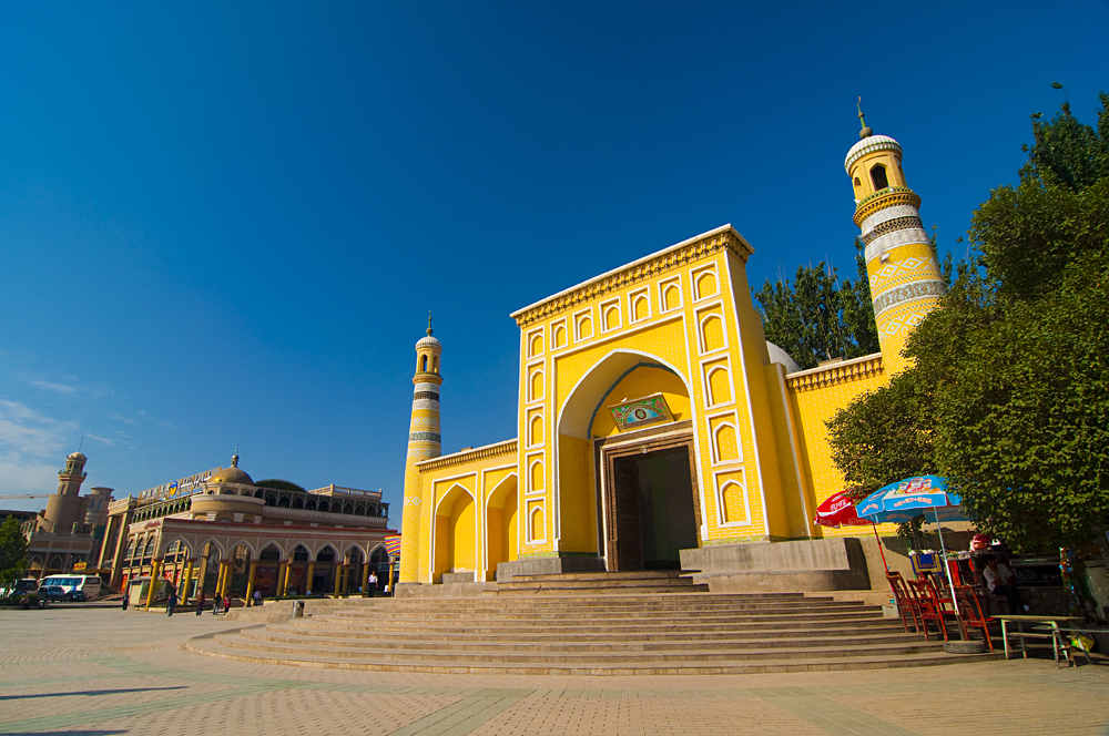 Id Kah Mosque, Kashgar, Xinjiang, China