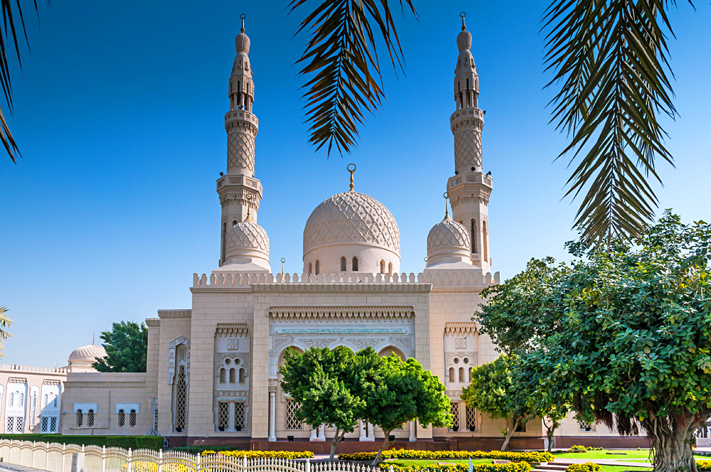 Jumeirah Mosque in Dubai, United Arab Emirates (UAE)