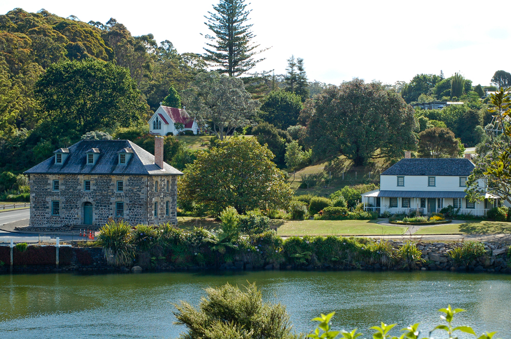 Kerikeri Mission Station at Bay of Islands, North Island, New Zealand