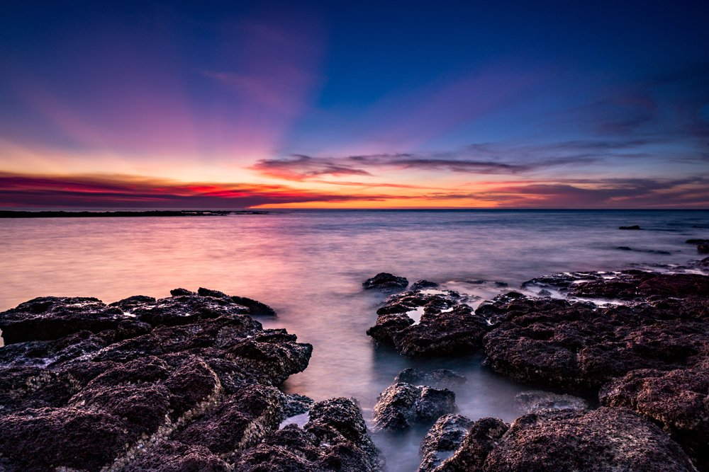 Lee Point Sunset, Darwin, Northern Territory, Australia