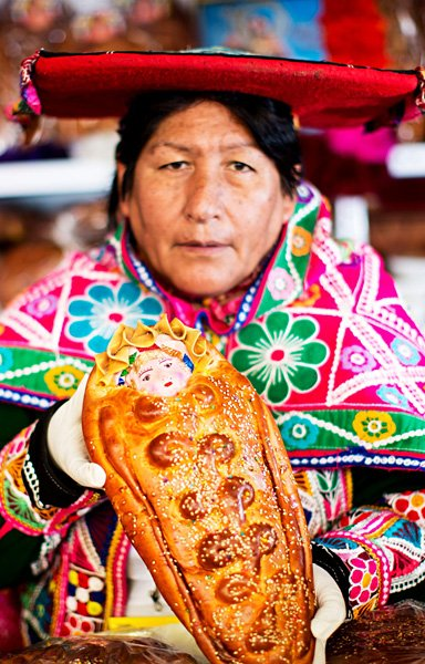 Meet Me At Mistura - Traditional Bread, Cusco, Peru