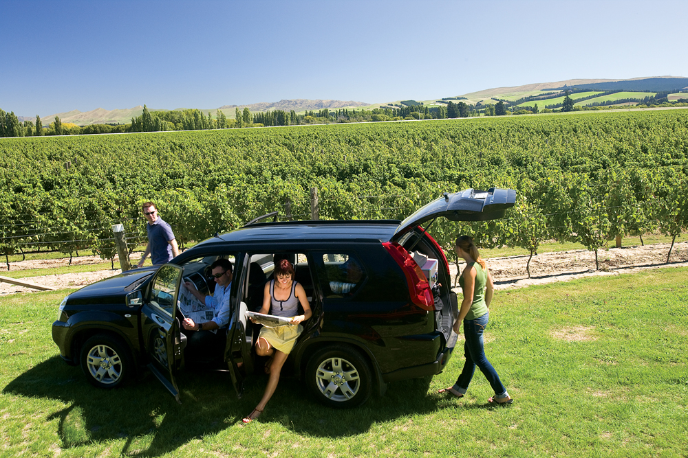 Self-Drive Through Winery in Waipara, South Island, New Zealand