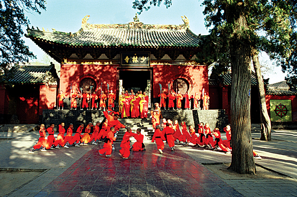Shaolin Temple Monks, China