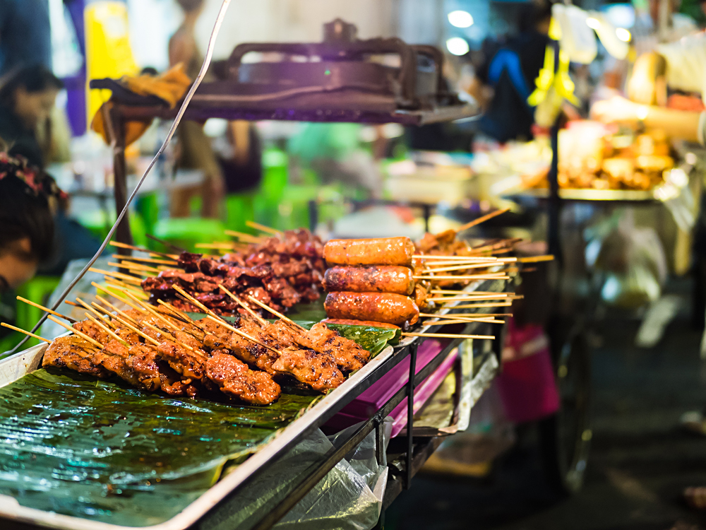 Street food in Southeast Asia