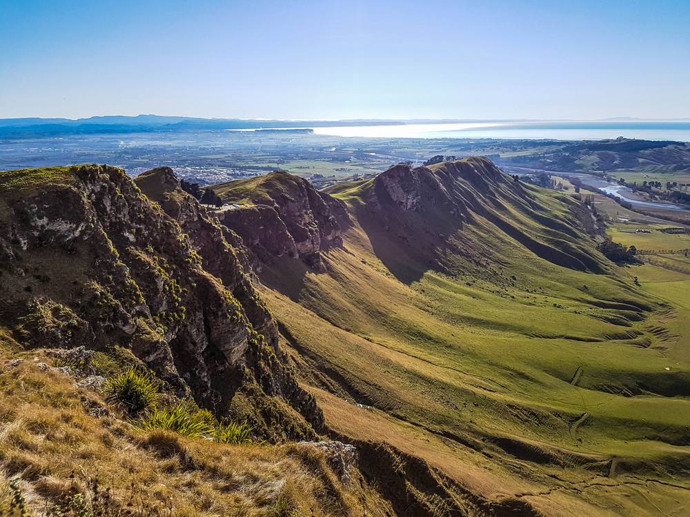 Te Mata Peak in Hawkes Bay, North Island, New Zealand