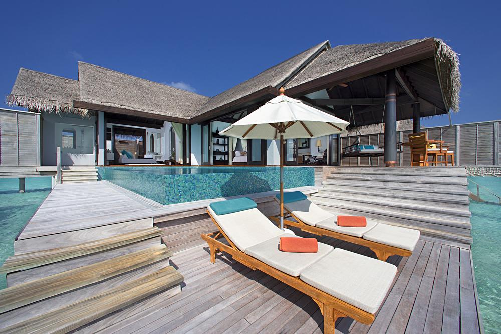 Anantara Kihavah Maldives Villas - Overwater Pool Villa Deck