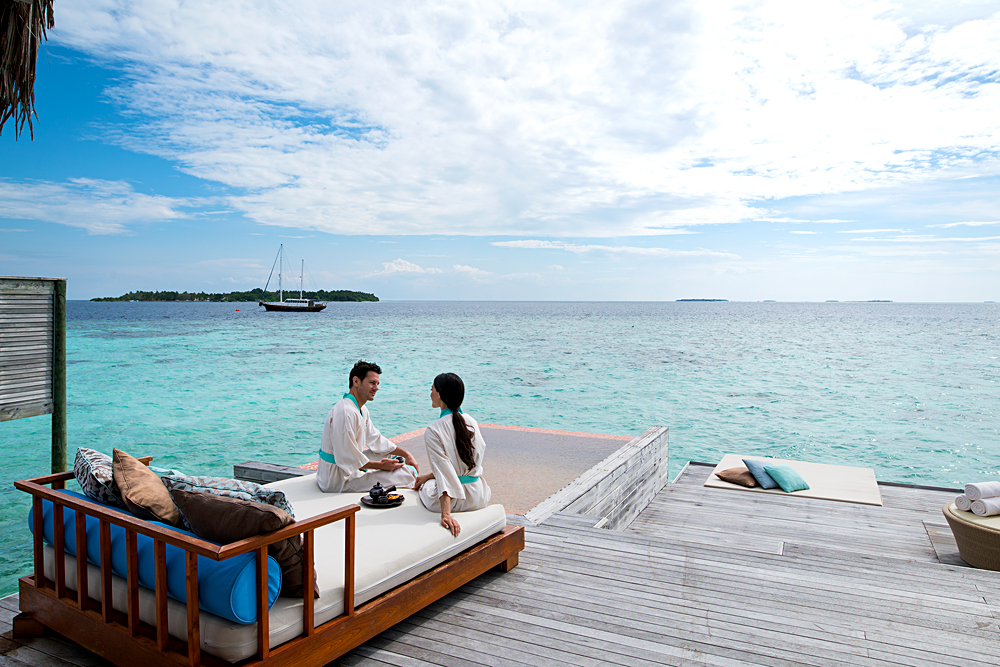 Anantara Kihavah Maldives Villas - Spa Relaxation Deck