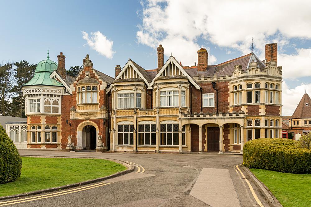 Bletchley Park in Buckinghamshire, England, UK (United Kingdom)