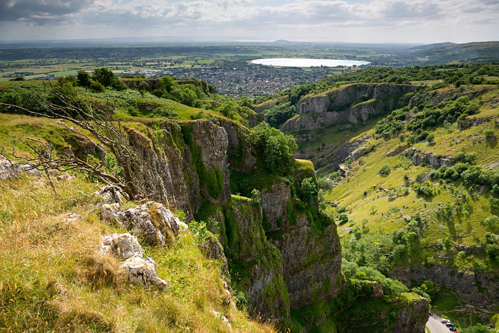 Cheddar Gorge, Mendip Hills, Somerset, England, UK (United Kingdom)
