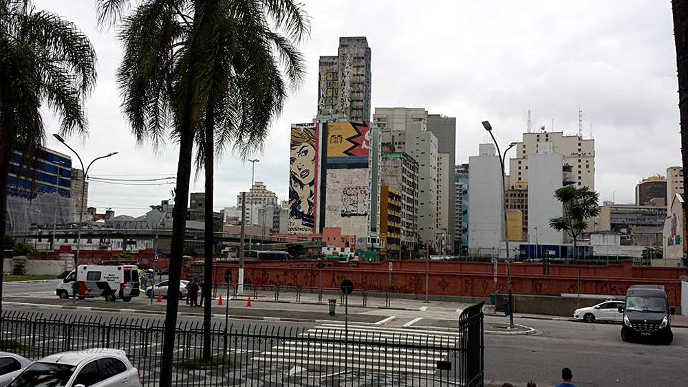 Christian Baines - Art in the Concrete Jungle, Sao Paulo, Brazil