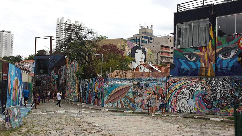 Christian Baines - Batman Alley in Vila Madelena, Sao Paulo, Brazil