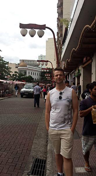 Christian Baines - Chris in Liberdade, Sao Paulo, Brazil