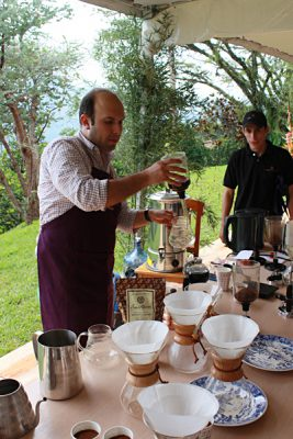 Emma Cottis - Coffee demonstration and tasting, Colombia