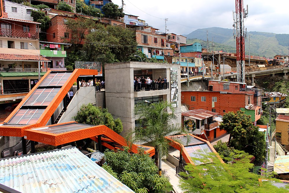 Emma Cottis - Outdoor Escalators in Medellin, Colombia