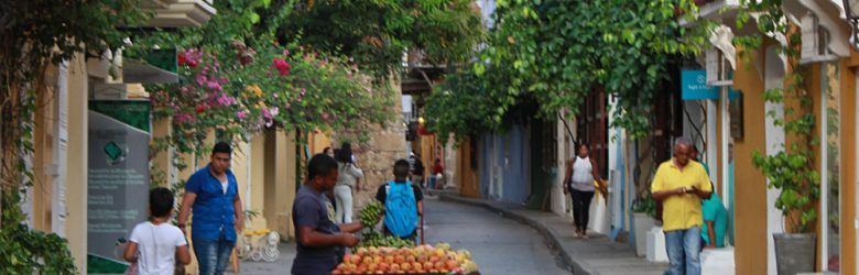 Emma Cottis - Streets of Cartagena, Colombia