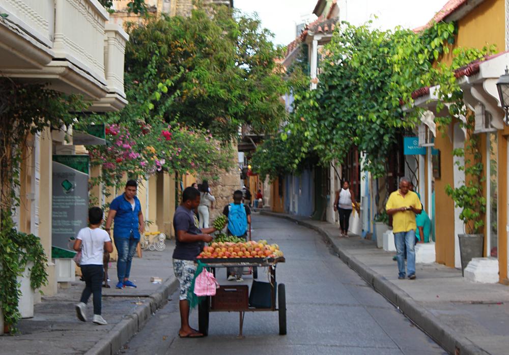 Emma Cottis - Streets of Cartagena, Colombia