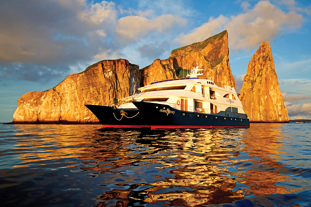 Haugan Sotry - MV Catamaran Ocean Spray, Galapagos Islands, Ecuador