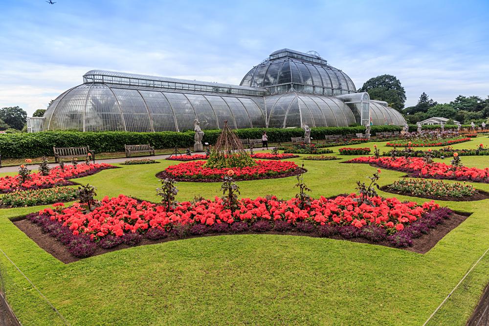 Kew Gardens or Royal Botanical Gardens in London, England, UK (United Kingdom)
