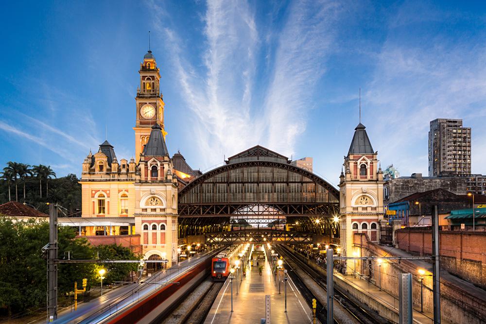 Luz Train Station, Sao Paulo, Brazil