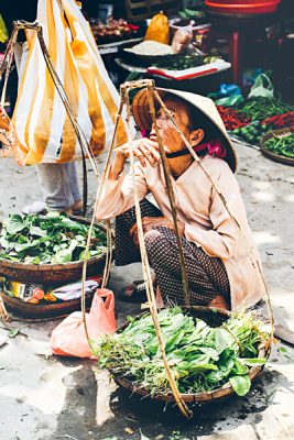 Michaela Trimble - Food Vendor in Hoi An, Vietnam