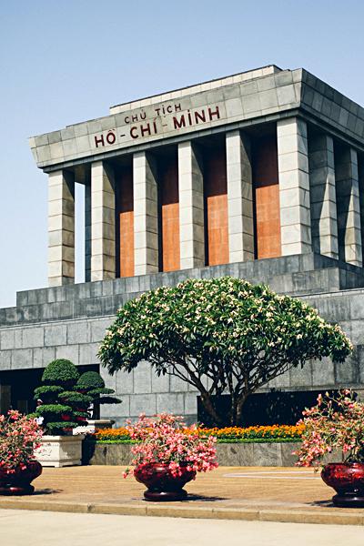 Michaela Trimble - Ho Chi Minh Mausoleum, Hanoi, Vietnam