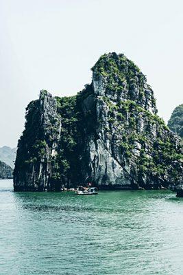 Michaela Trimble - Limestone Cliffs of Halong Bay, Vietnam