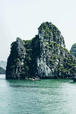 Michaela Trimble - Limestone Cliffs of Halong Bay, Vietnam