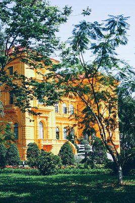Michaela Trimble - Presidential Palace, Hanoi, Vietnam