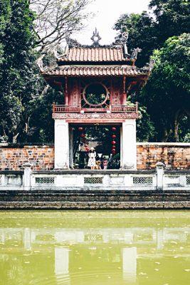 Michaela Trimble - Temple of Literature, Hanoi, Vietnam