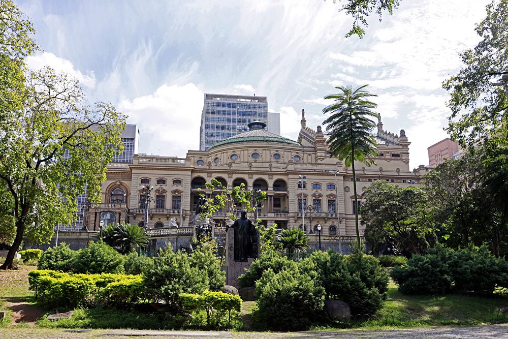 Municipal Theatre in Centro, Sao Paulo, Brazil