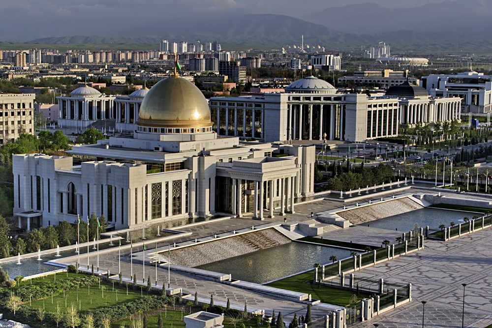 Presidential Palace in Ashgabat, Turkmenistan