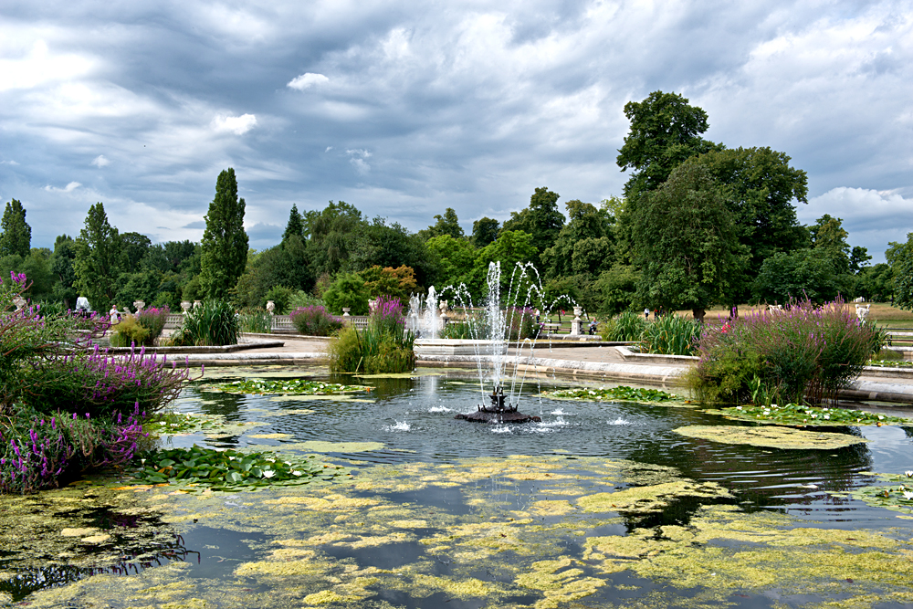 The Italian Gardens at Hyde Park in London, UK (United Kingdom)