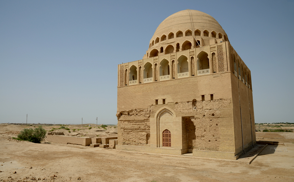 Tomb of Ahmed Sanjar, Merv, Turkmenistan