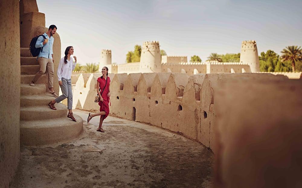 Al Jahili Fort, Al Ain, Abu Dhabi, United Arab Emirates (UAE) - Photo Courtesty of Abu Dhabi Tourism & Culture Authority