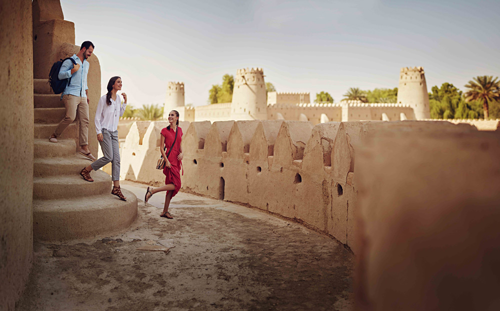Al Jahili Fort, Al Ain, Abu Dhabi, United Arab Emirates (UAE) - Photo Courtesty of Abu Dhabi Tourism & Culture Authority