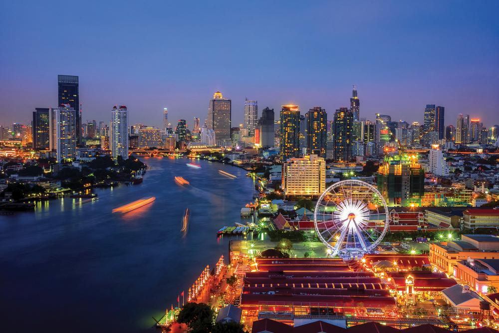 Bangkok at Night, Thailand
