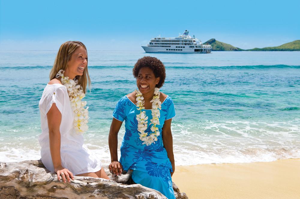 Captain Cook Cruises - Friendly Fijian Locals, Fiji