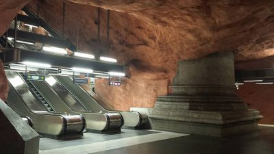 Christian Baines - Stockholm Metro, Sweden