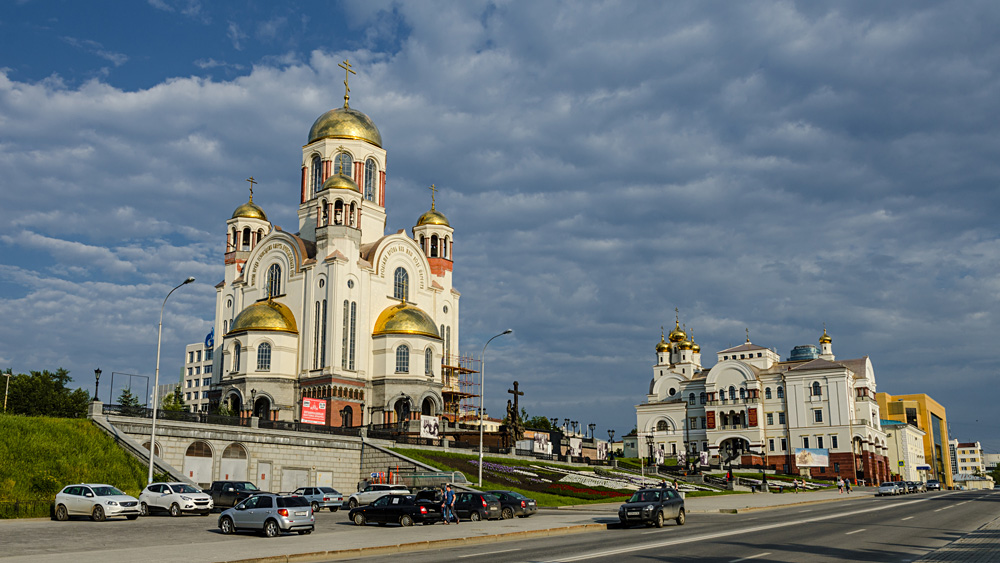Church of All Saints, Yekaterinburg (Ekaterinburg), Russia