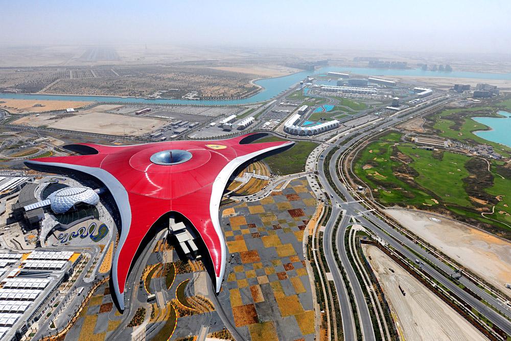 Ferrari World, Abu Dhabi, United Arab Emirates (UAE) - Photo Courtesty of Abu Dhabi Tourism & Culture Authority