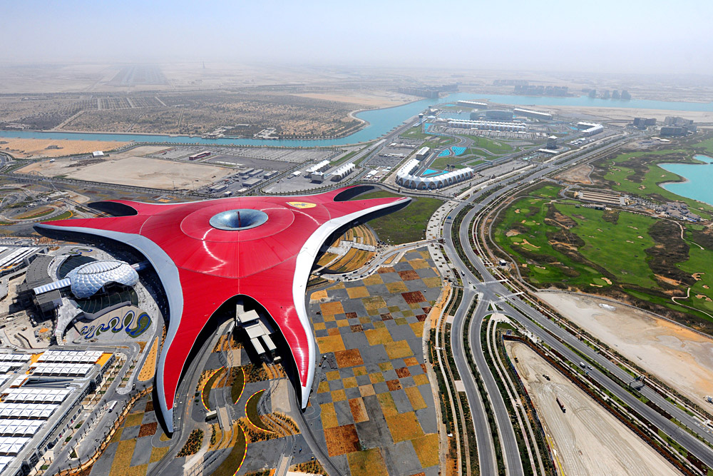 Ferrari World, Abu Dhabi, United Arab Emirates (UAE) - Photo Courtesty of Abu Dhabi Tourism & Culture Authority