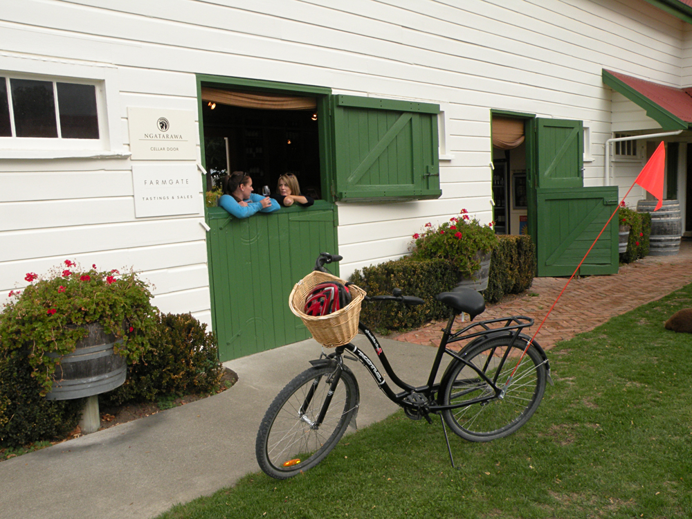 Janie Robinson - Cycle Winery Tour, Hawkes Bay, North Island, New Zealand