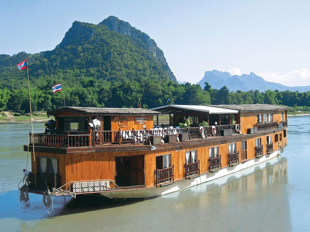 Mekong Sun - Exterior, Mekong River, Laos