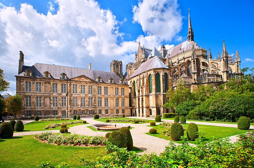 Notre Dame Cathedral of Reims, Champagne Region, France