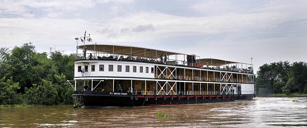 Pandaw Expedition Cruises - RV Mekong Pandaw, Mekong River, Cambodia Vietnam
