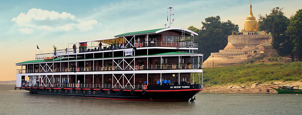 Pandaw Expedition Cruises - RV Orient Pandaw, Irrawaddy River, Myanmar