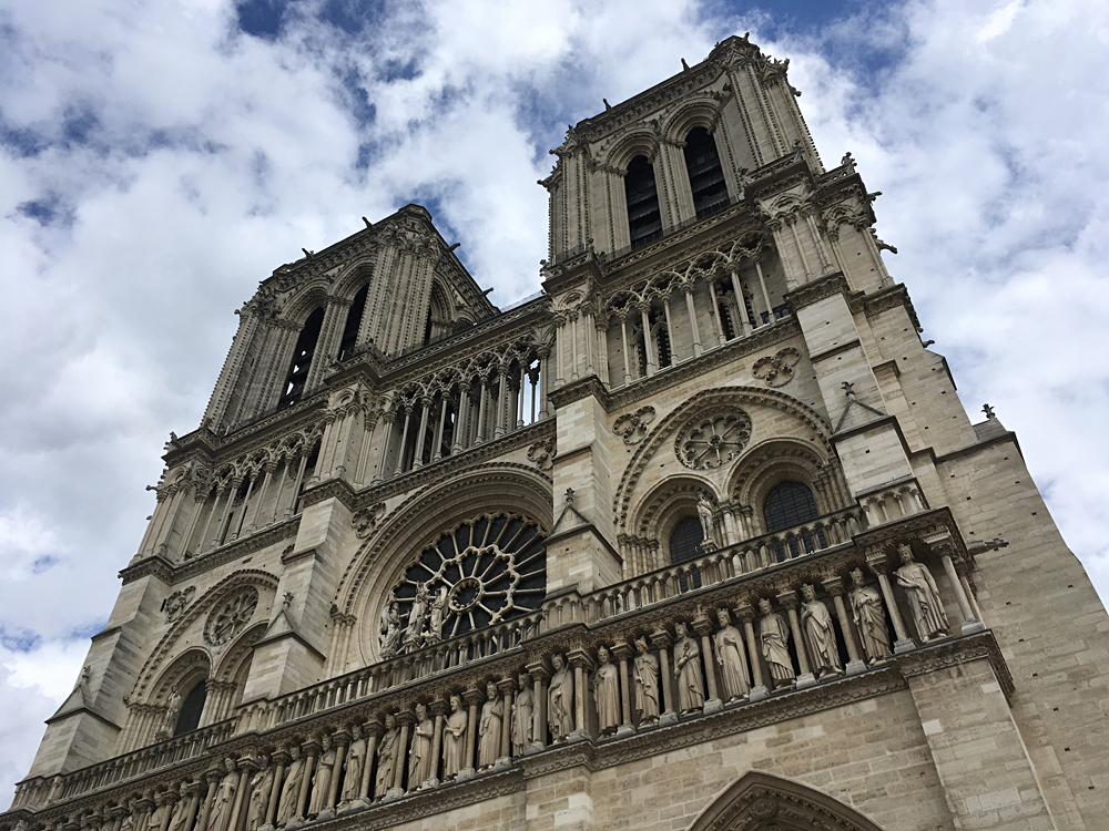 Aren Bergstrom - Notre Dame Cathedral, Paris, France