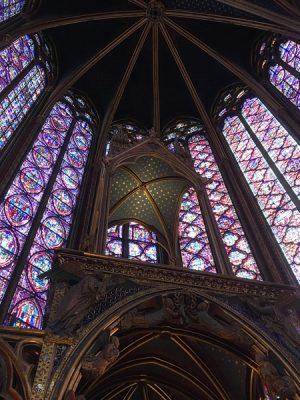 Aren Bergstrom - Saint Chappelle, Paris, France