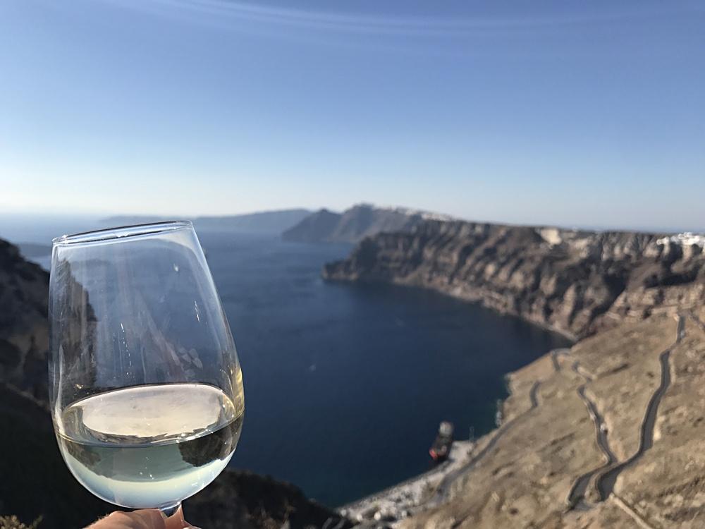Bronwyn Hodge - Santorini Wine, Greece