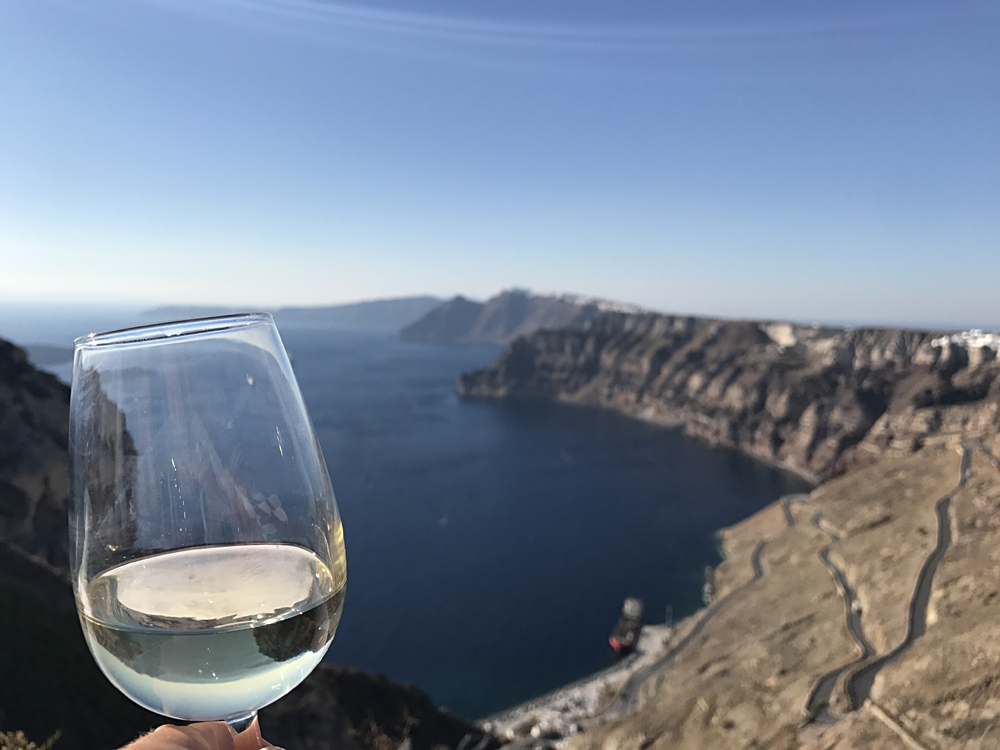 Bronwyn Hodge - Santorini Wine, Greece